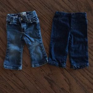 Two Pair Baby Jeans